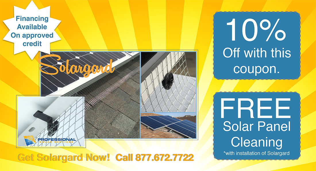 Professional Solar Services - Coupon